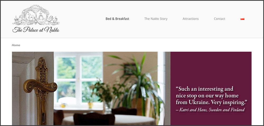 WordPress bilingual website design