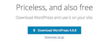 Download WordPress CMS