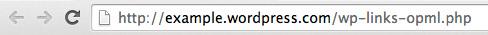 Save WordPress links.