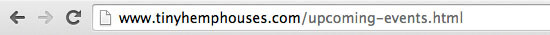 Weebly URL with .html at the end