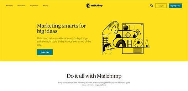 Mailchimp email marketing service