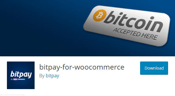 Bitpay for WooCommerce plugin