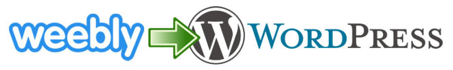Weebly to WordPress site migration
