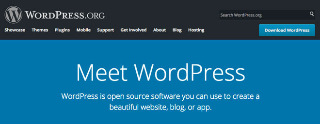 Download, install WordPress