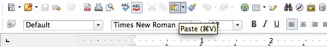 Copying, pasting content in WordPress