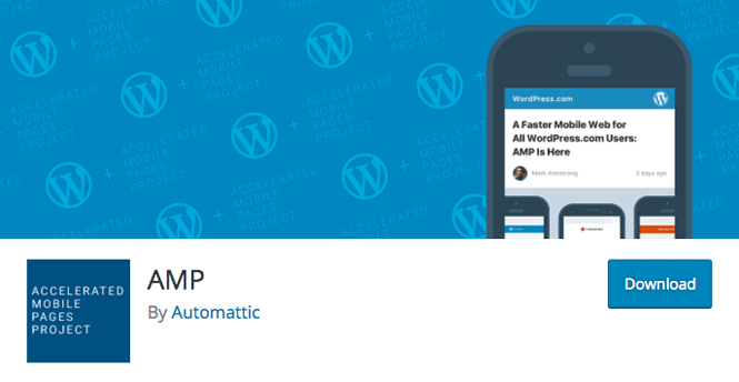 Accelerated Mobile Pages plugin