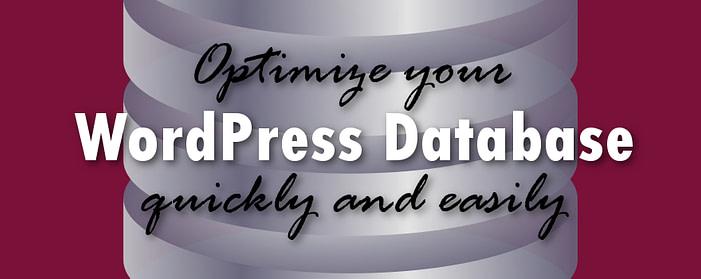 Optimize your WordPress database with WP-Optimize