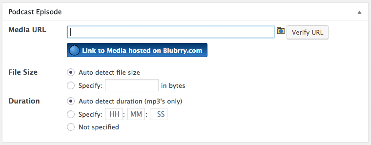 Add podcast episode to WordPress post or page.