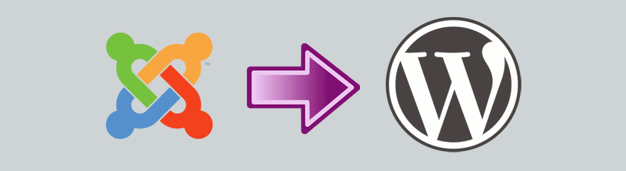 Joomla to self-hosted WordPress site migration.