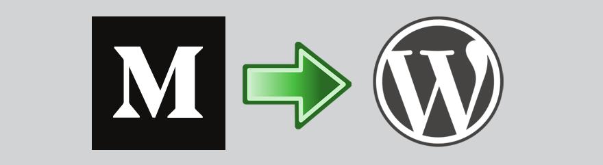 Medium to WordPress site migration guide