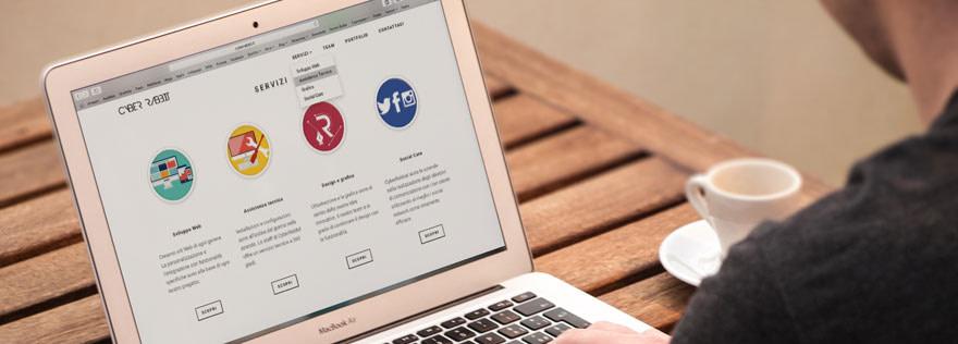 User-friendly website theme