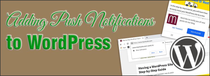 Adding push notifications to WordPress with OneSignal