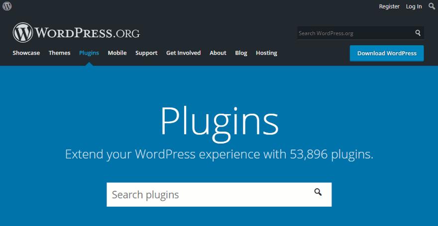 WordPress.org plugin directory.